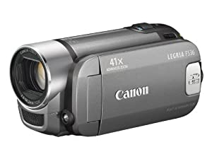 Canon LEGRIA FS 36 DVC-Camcorder (Dual-Flash-Memory, 41-fach Advanced Zoom, 6,7 cm (2,7 Zoll) Display) silber