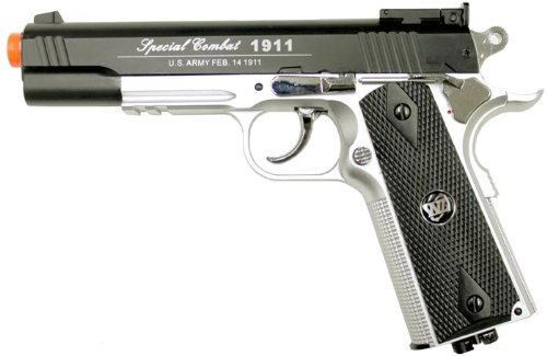 WinGun 1911 601 CO2 Gas Airsoft Gun BS