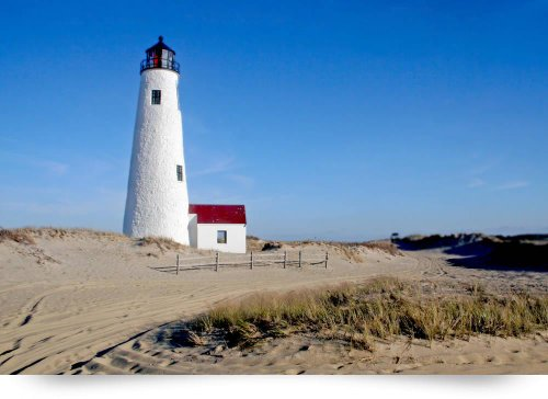 Great Point Lighthouse (Nantucket, Ma) (Giclee Art Print), Christopher Seufert front-958848
