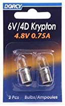 Dorcy International 41-1663 2-Pack 6-Volt Kpr113 Krypton Bulb - Quantity 12