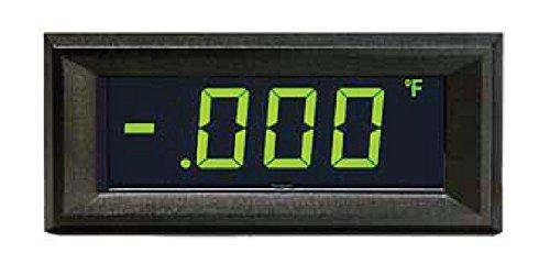 Osmlp-3Egn Digital Panel Meter Lcd Display 4-20Ma Loop Powered Green Neg