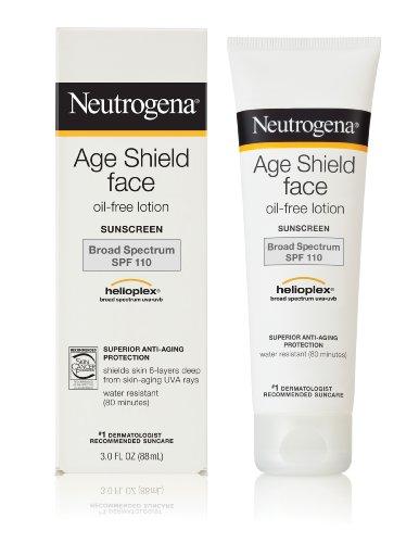 Neutrogena Age Shield Face Lotion Sunscreen Broad Spectrum SPF 110, 3.0 FL OZ