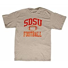 San Diego State Aztecs T-shirt - Football, Heather by SportShack INC