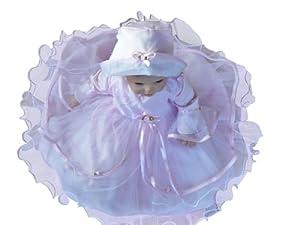 Bautizo Vestidos Traje de bautizo para el bautismo de niños niñas recién nacidas para fiestas de boda, JE02 - BebeHogar.com