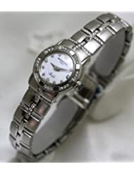 Raymond Weil Watches Raymond Weil Parcifal all Stainless-steel Mother of Pearl Dial Diamond Hour Markers Diamond Bezel and Bracelet Swiss LIMITED EDITION (Size Mini) Women's Watch