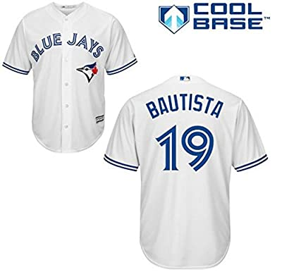 Jose Bautista Toronto Blue Jays #19 MLB Youth Cool Base Home Jersey