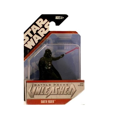 Star Wars Unleashed Battle Pack Singles Darth Vader Figure