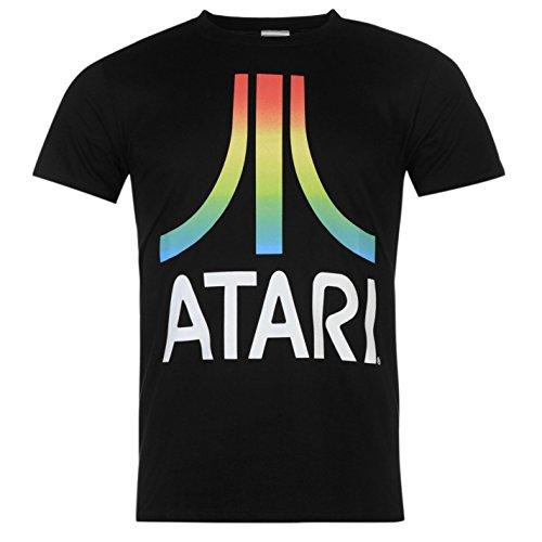 Atari Logo ufficiale T-Shirt da uomo nero t shirt, nero