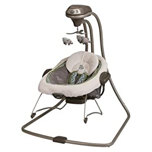 Graco Duet Connect 2-in-1 Swing and Bouncer - Monroe