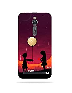 alDivo Premium Quality Printed Mobile Back Cover For Asus Zenfone 2 ZE551ML / Asus Zenfone 2 ZE551ML Back Case Cover (MKD184)