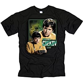 Star Trek T-Shirt Ensign Chekov Original Series