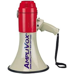 Amplivox S602 Piezo Dynamic Megaphone with Siren Whistle - 1760 Yard Range,... by Amplivox