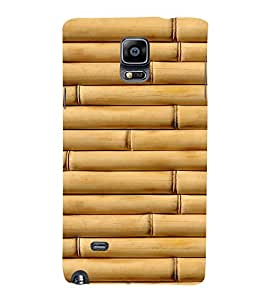EPICCASE Bamboo wall Mobile Back Case Cover For Samsung Galaxy Note 4 (Designer Case)
