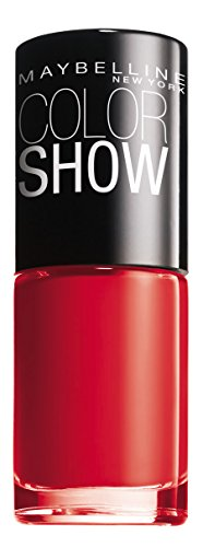 Maybelline New York Color Show - Smalto Asciugatura Rapida Power Red 349