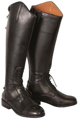 Dublin Aristocrat Field Boots Narrow 9 Black