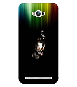 PrintDhaba Abstract Image D-3762 Back Case Cover for ASUS ZENFONE MAX ZC550KL (Multi-Coloured)
