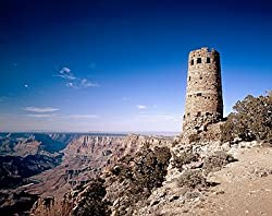 Arizona's Grand Canyon Watchtower - Singular 16x20-inch Photographic Print by Carol M. Highsmith