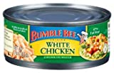 Bumble Bee Premium White Chicken Chunk in Water 5 oz (Pack of 24)