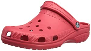 Crocs Classic Unisex - Erwachsene Clogs, Rot (Pepper 6EN), EU 42/43 (US M9/W11)