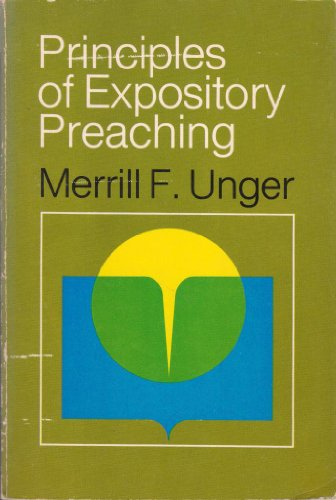 Principles of Expository Preaching