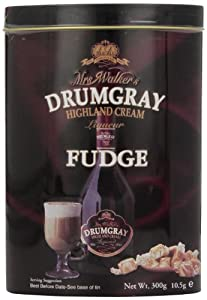 Gardiners of  Scotland Mrs Walkers Drumgray Highland Cream Liqueur Fudge, 10.5-Ounce