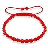Soufeel Cut Red Ball Murano Glass Shamballa Bracelet Picture