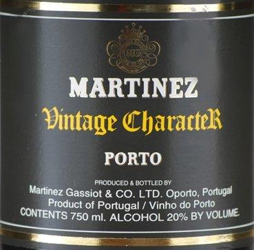 Martinez Vintage Charactek Porto