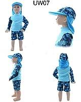 Alva Baby Sun Protection & Swim Suits + one Sun Hat 50+ UPF UW07-H