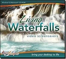 Living Waterfalls Video Screensavers