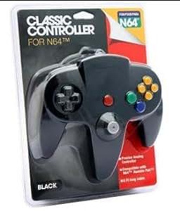 Controller Pad for Nintendo 64 N64 BLACK w Long Handles