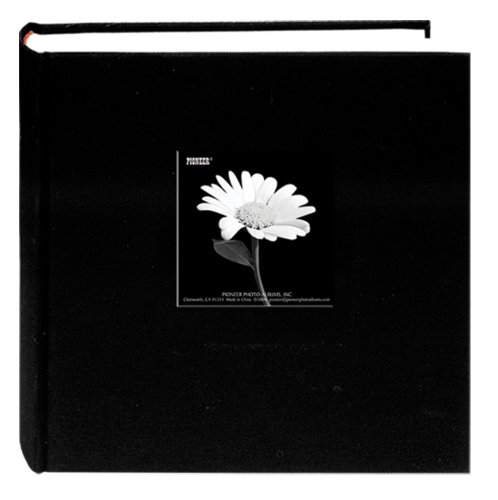 Pioneer 200 Pocket Fabric Frame Cover Photo Album,