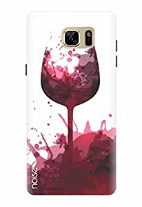 Noise Designer Printed Case / Cover for Samsung Galaxy Note7 / Patterns & Ethnic / Wine dine Design