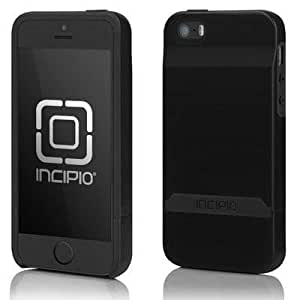 Incipio Stashback for iPhone 5 - Retail Packaging - Obsidian Black / Obsidian Black