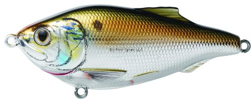 Koppers Menhaden Salt Water Lure, 3-Inch, Olive/Bronze