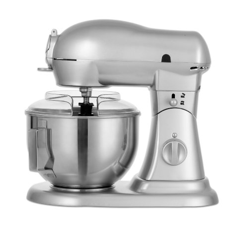 Gourmet Grade GM800 7-Quart 10 Speed Die-Cast Stand Mixer, Planetery Action with Stainless Steel Bowl