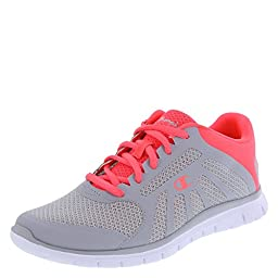 Champion Women\'s Grey/Coral Gusto Runner 8.5 M US