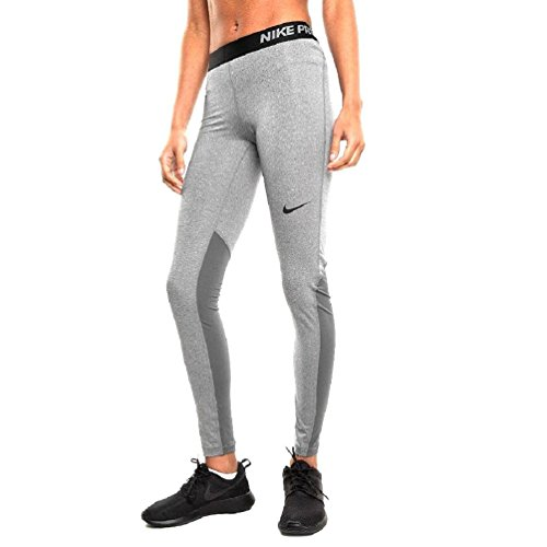Nike Womens Pro Cool Training Tights Dark Grey/Black 725477-021 Size Large