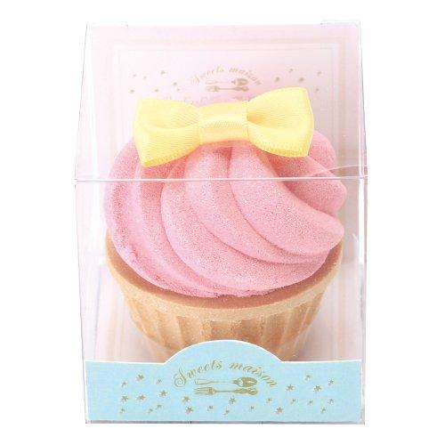 ノルコーポレーション お風呂用 芳香剤 おめかしカップケーキフィズ 60g ラズベリーの香り OBーSMMー14ー1