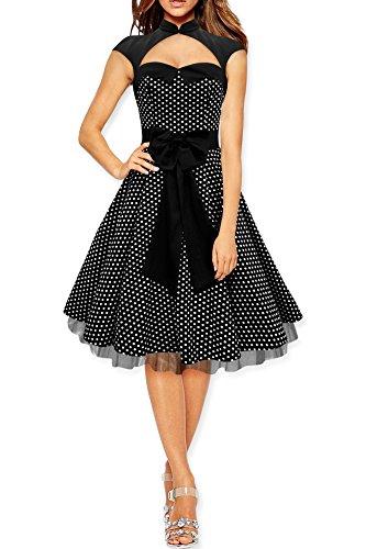 black-butterfly-athena-vestido-de-lunares-con-gran-lazo-negro-lunares-blancos-es-38-s