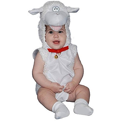Plush Lamb Baby Costume