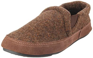 ACORN Men's Fave Gore Slipper,Java Tweed,10.5-11.5 M US