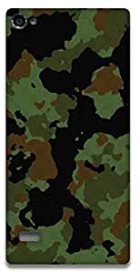 The Racoon Grip Military camouflage hard plastic printed back case / cover for Lenovo Vibe X2