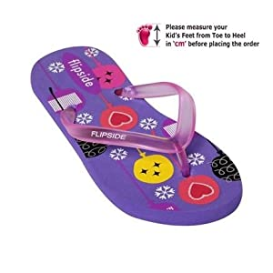 Kids Flip Flop - Purple | 25100
