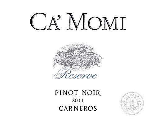 2011 Ca'Momi Reserve Carneros Pinot Noir 750 Ml