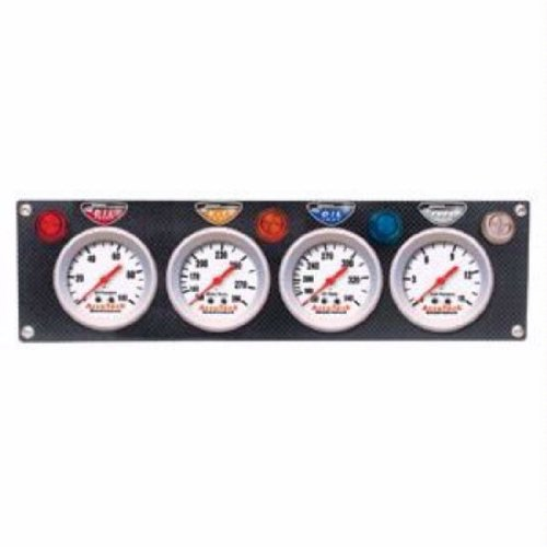Wht//Blk 2 1//16 Spek-Pro 2 1//16 Stepper Motor W//Peak /& Warn 300/ºf Auto Meter AutoMeter P342128 Gauge Trans Temp