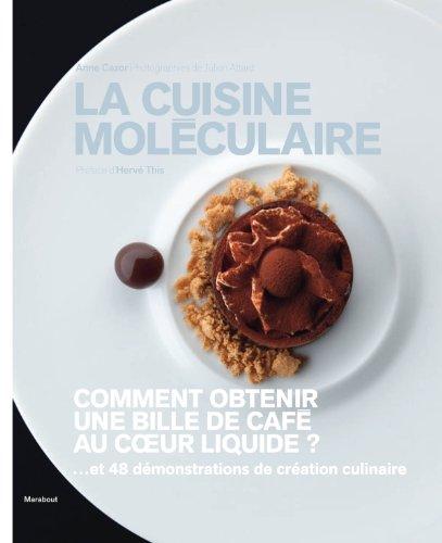 La cuisine moléculaire  Cazor, Anne, grand format