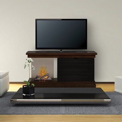 Dimplex Debenham Electric Fireplace & Entertainment Center - Logs (GDSOPL-1380CH) image B00FQRWBN6.jpg