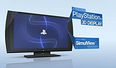 "Sony PlayStation 24"" 3D 1080p 240Hz Widescreen LED LCD 3-in-1 Monitor w/SimulVie"