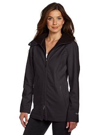 土拨鼠 Marmot Women's Tranquility Jacket 女士长款M2软壳冲锋衣白蓝$92.14