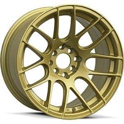 XXR 530 17×7 Gold 5-100/5-114.3 +35mm Wheels